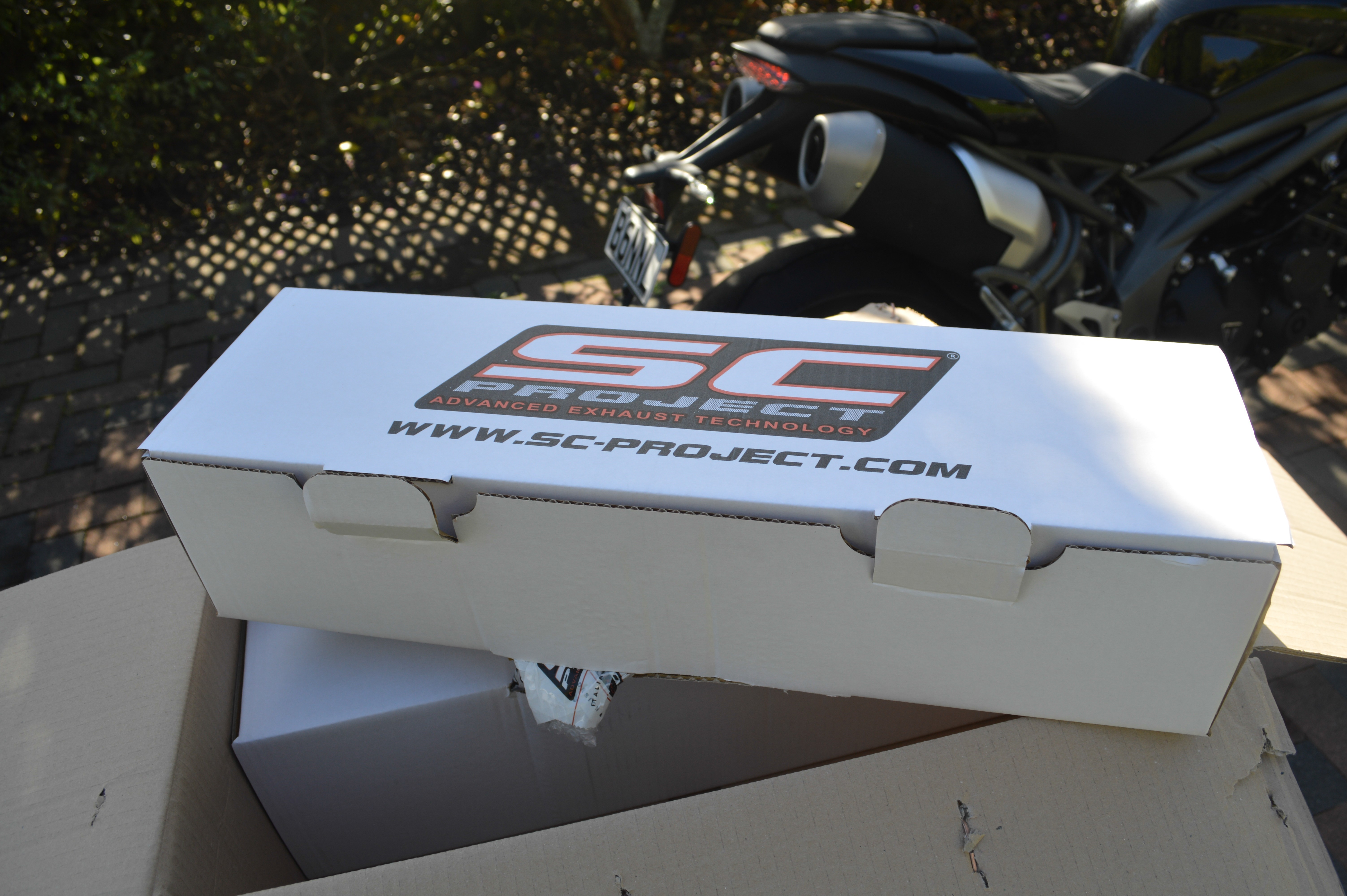 SC Project exhaust box